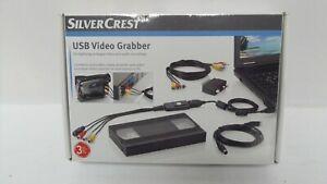 New & Sealed Silvercrest USB Video Grabber- Export Camcorder to PC D59