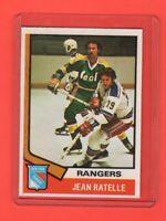 1974-75 O-Pee-Chee OPC  # 145 Jean Ratelle  Nrmnt-mt