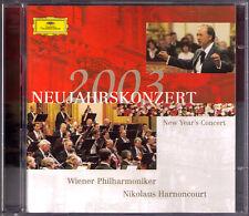 Neujahrskonzert aus Wien 2003 Nikolaus HARNONCOURT 2CD New Year's Concert Vienna