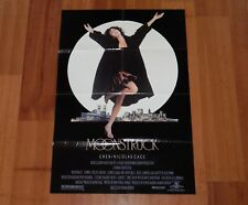 """ORIGINAL MOVIE POSTER """"MOONSTRUCK"""" 1987 FOLDED ONE SHEET CHER CAGE"""