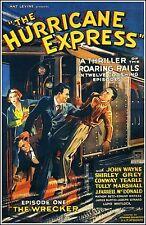 The Hurricane Express - Cliffhanger Movie Serial DVD John Wayne Tully Marshal