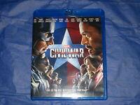 Captain America: Civil War Marvel Blu-Ray Disc Chris Evans, Robert Downey Jr.