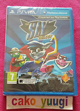 THE SLY TRILOGY PS VITA  NEUF SOUS BLISTER VERSION FRANCAISE