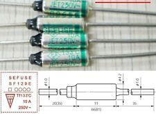 10 PCS SEFUSE Cutoffs SF129E Thermal Fuse 133 °C 10A 250V