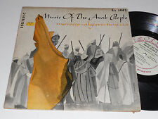 "MUSIC OF THE ARAB PEOPLE 10"" Toraia Orchestra Morocco Algiers Tunisia ES-2002"