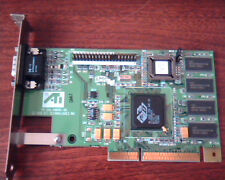 AGP card ATI 109-49800-00 3D Rage Pro 2X 1024980201513863 AMC Ver 2.0 VGA Video