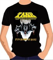 "TANK ""Filth Hounds Of Hades"" T-Shirt size L *NEW* NWOBHM"