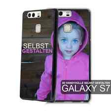 2D Samsung Galaxy S7 individuelle Handyhülle mit Foto bedruckt Case Cover Bumper