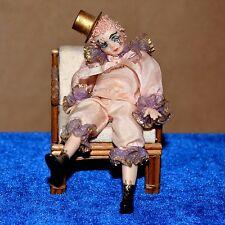 dollhouse doll miniature porcelain girl 1:12 clown