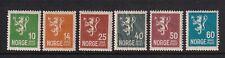 Norway Mint Stamps Sc#115-116,121,126-128 MNH CV$50