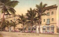 Palm Beach, FLORIDA -  Vineta Hotel - HANDCOLORED