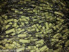 10X Nos Electel Ksp43 1.5nF 1500pF 630V Hi End Very Low Loss Tube Amp Caps!