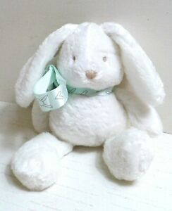 """Mothercare Floppy Bunny with scarf 8"""" Soft Toy Plush Comforter. Excellent. 0604"""