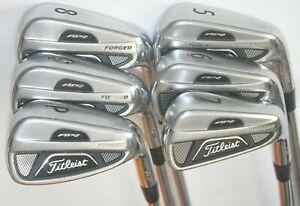 Titleist 712 AP2 irons 5-PW / True Temper Dynamic Gold S300 shafts