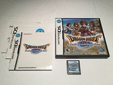Dragon Quest IX Sentinels of the Starry Skies Nintendo DS Complete ZOMA Map Exc!