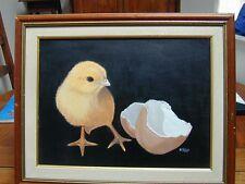 TABLEAU NADINE PETRY POUSSIN peinture acrylique sur toile