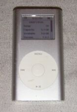 Used Apple iPod mini 1st Generation Silver (4 GB). Works great