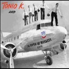 1 CENT CD Tonio K. And 16 Tons Of Monkeys Live - Tonio K.