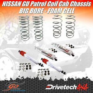 NISSAN GU PATROL Y61 DRIVETECH 4X4 DTSK-NIS01B CAB CHASSIS BIG BORE FOAM X H/DTY