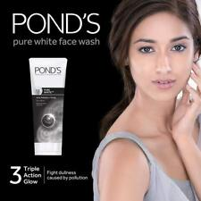 Pond's Pure White Anti-Pollution + Purity Face Wash with Activated Charcoal 100g