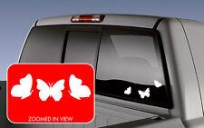 Butterfly 3 pack cute Vinyl Decal Sticker Window Car SUV Truck JDM laptop