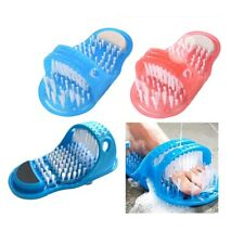 Home Foot Scrubber Brush Slipper Bath Shower Easy Cleaner Scrub Feet t @wr