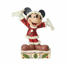 Disney Traditions Mickey Mouse Christmas Personality Pose Jim Shore 6002842