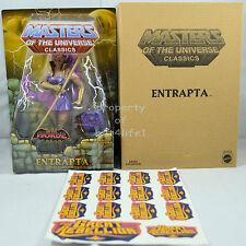 Masters of the Universe Classics Entrapta Club Etheria W/Stickers Motuc! New!