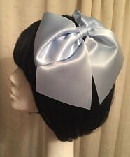 Mermaid Hair Bow Blue Large Ariel Disney Princess Cosplay Lolita Little Mermaid