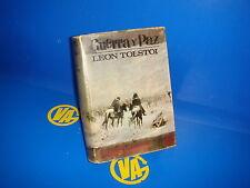 Libro GUERRA Y PAZ  de Leon Tolstoi-tomo segundo