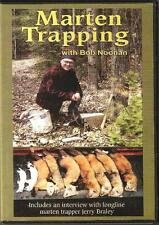 Marten Trapping With Bob Noonan (Dvd) Expert Marten Trapping Video
