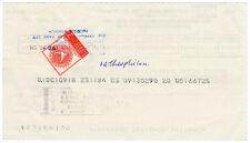 (I.B) Cyprus Revenue : Cheque Duty 2c