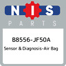 B8556-JF50A Nissan Sensor & diagnosis-air bag B8556JF50A, New Genuine OEM Part