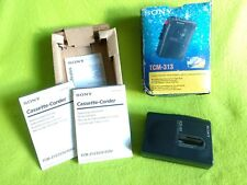 SONY WALKMAN TCM-313 CASSETTE CORDER DICTAPHONE TESTED WORKING RETRO VINTAGE