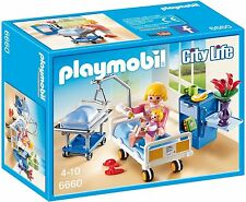Playmobil Sick room with baby crib 6660