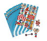 Pack of 12 - Circus Carnival Stickers - Great Party Bag Fillers