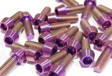 Titan Schraube M6 x 18 konisch DIN 912 Grade 5 purple