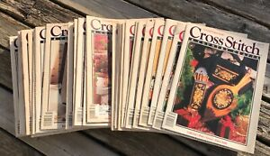 $2.00-$3.00 1990's Vintage Cross Stitch & and Country Craft Magazine -You Pick-