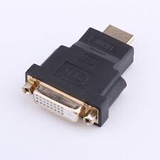 DVI-D Dual Link (24+1 PIN) femmina a HDMI Maschio Adattatore Convertitore per