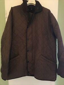BARBOUR Stepp Jacke Duracotton Polar Quilt Jacket Long Gr. XL