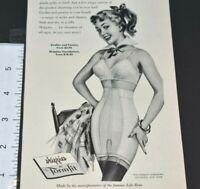 1953 Formfit Skippies Penny-Wise Panties Girdles Shape School Vintage Print Ad