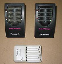 Lot of 3 Panasonic battery chargers