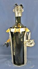 Wine Caddy Waiter with Drink Tray Bar accessory (Metal) A