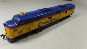 Model Powers E-7A Dummy Engine Chessie System C+O 3042,  HO Scale with Box