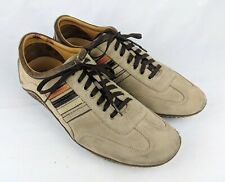 COLE HAAN Brown Suede Driving shoes G-Series rubber soles AIR Men's 10.5 M GUC