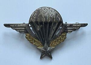 Insigne brevet parachutiste Indochine Algérie Drago Paris rue de Romainville