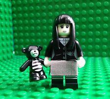 Lego Spooky Girl Minifigures Teddy Bear Halloween Goth City Town 71007 Series 12