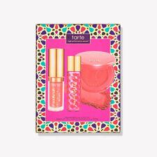 NIB TARTE sweetest things color set fragrance, blush & gloss !