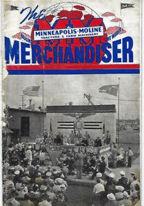 Minneapolis Moline Merchandiser from June 1943 Volume 6 No. 4
