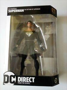 """Superman Black Kryptonian Suit - DC Essentials - 7"""" Figure DC Direct"""
